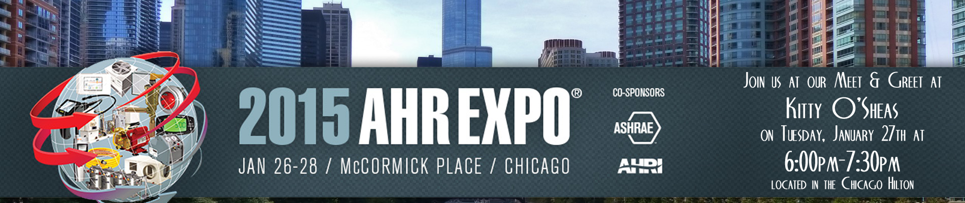 Join Women in HVAC at the AHR Expo in Chicago in January 2015.