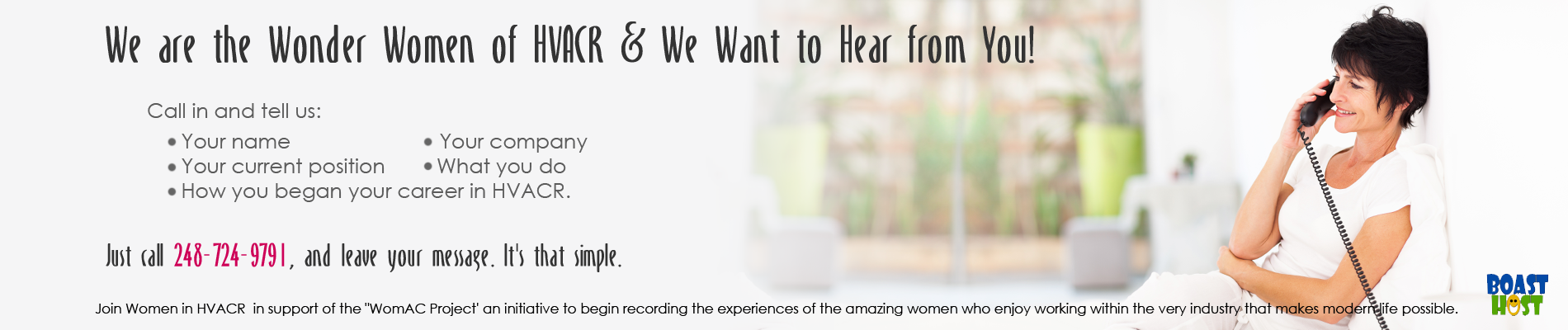 Tell us about your experiences as a woman in the HVAC industry